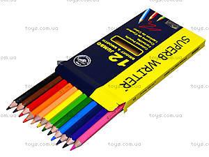 Цветные карандаши Marco Jumbo, 12 цветов, 4400-12СВ, купить