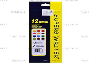 Цветные карандаши Marco Jumbo, 12 цветов, 4400-12СВ, цена