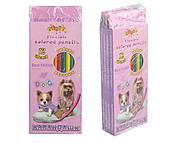 """Карандаши """"BEST FRIEND"""", 12 цветов, гибкие (4 набора в упаковке), 13317, доставка"""