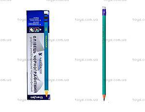 Графитный карандаш HB, 12 штук, 72901-NV