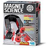 Детская лаборатория, опыты с магнитами, 00-03291, фото