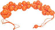 Оранжевые бусы на шею, Д378ут-2, отзывы