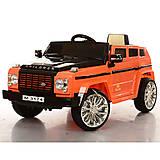 Оранжевый электро-джип с MP3, M3174EBR-7