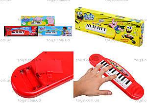 Игрушечный музыкальный орган «Мультики», 36889870615