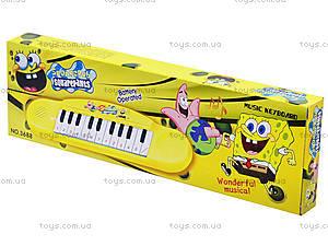 Игрушечный музыкальный орган «Мультики», 36889870615, детские игрушки