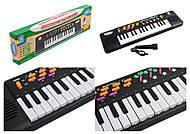 Орган на батарейках, на 32 клавиши, с микрофоном, TLF-3203A