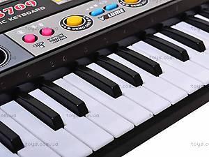 Орган для детей с микрофоном, 37 клавиш, MQ3709, купить