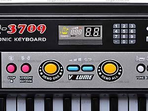 Орган для детей с микрофоном, 37 клавиш, MQ3709, фото