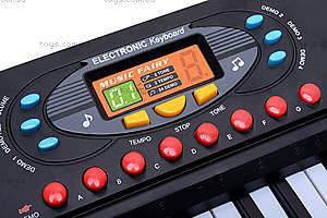Орган для детей с микрофоном, MQ3724, цена