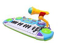 Орган для деток с микрофоном, BB335A, фото