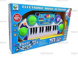 Орган для деток с микрофоном, BB335A, игрушки