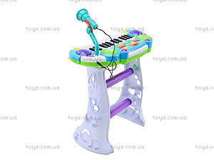 Орган для деток со стульчиком, BB335B, игрушки