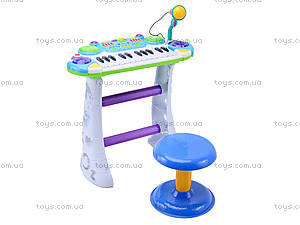 Орган для деток со стульчиком, BB335B, магазин игрушек