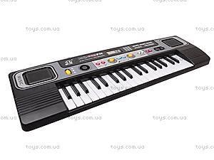 Орган электронный, с микрофоном, MQ023FM, игрушки