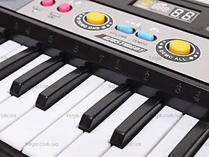 Орган электронный, с микрофоном, MQ023FM, детские игрушки