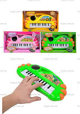 Игрушечный синтезатор с подсветкой, J67-0102(0304)