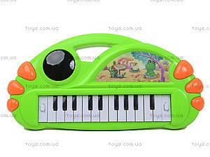 Игрушечный синтезатор с подсветкой, J67-0102(0304), игрушки