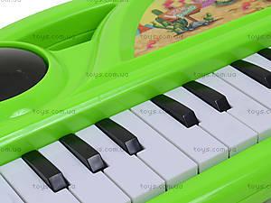 Игрушечный синтезатор с подсветкой, J67-0102(0304), детские игрушки