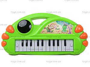 Игрушечный синтезатор с подсветкой, J67-0102(0304), магазин игрушек