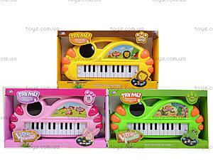 Игрушечный синтезатор с подсветкой, J67-0102(0304), toys.com.ua