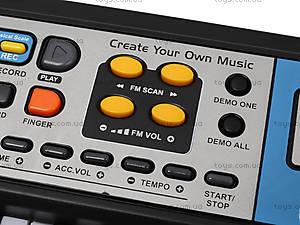 Электронное пианино с микрофоном, MQ-017FM, купить