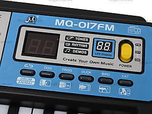 Электронное пианино с микрофоном, MQ-017FM, отзывы