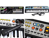 Электронное пианино с микрофоном, MQ-017FM, фото