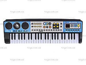 Электронное пианино с микрофоном, MQ-017FM, игрушки