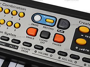 Электронное пианино с микрофоном, MQ-017FM, детские игрушки