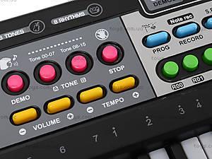 Игрушечный орган с микрофоном, от сети, MQ-4919, купить