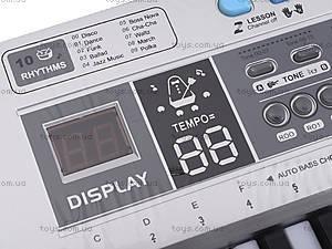 Электронный синтезатор для детей, MQ6110, цена