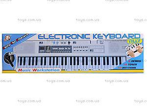 Электронный синтезатор для детей, MQ6110, детские игрушки