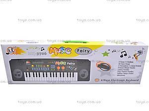 Орган на 37 клавиш с микрофоном, MQ3706, купить