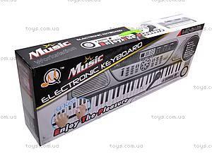 Орган на 54 клавиши с микрофоном, MQ5416, игрушки