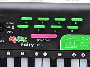 Орган с микрофоном и FM-радио, MQ-001FM, цена