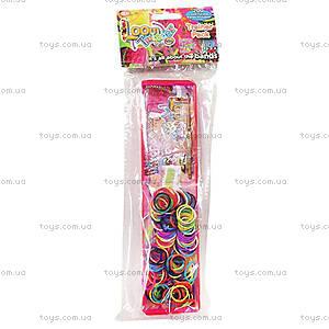 Оригинальный набор для плетения цветными резинками, SV11707, фото