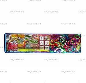 Оригинальный набор для плетения цветными резинками, SV11707, игрушки