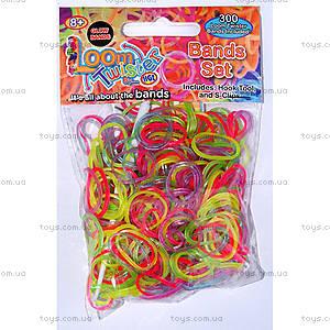 Набор для плетения цветными резинками, 300 штук, SV11675, отзывы