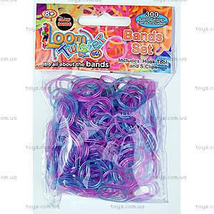 Набор для плетения цветными резинками, 300 штук, SV11675, игрушки