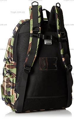 Оригинальный рюкзак цвета зеленый камуфляж, KZ24483942, купить