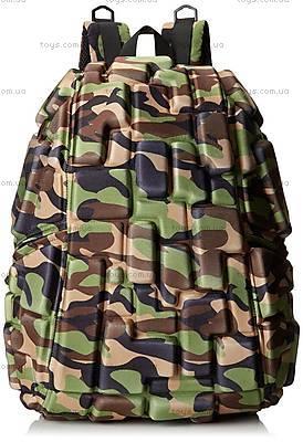 Оригинальный рюкзак цвета зеленый камуфляж, KZ24483942