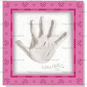 Отпечаток руки с рамочкой, 00-04556, фото