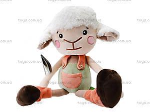Плюшевая овечка «Лойд», К346А, фото