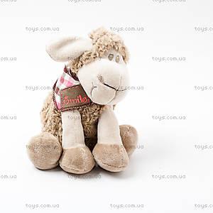 """Плюшевая овечка «Линдси», TB12-159/7.5"""""""