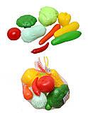 Игровой набор овощей в сетке, 04-476, отзывы