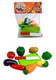Овощи на липучках FUN GAME, 9021