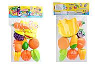 Овощи и фрукты, делятся пополам, 5020A-1819, отзывы