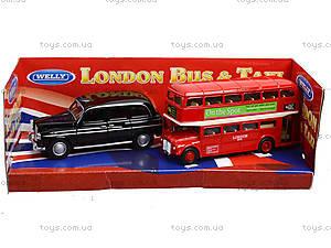 Автобус London Bus + машинка Taxi, 43616-2TB, купить