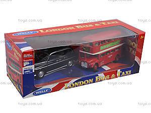 Автобус London Bus + машинка Taxi, 43616-2TB, фото