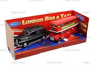 Автобус London Bus + машинка Taxi, 43616-2TB, отзывы